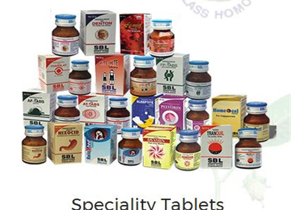 Speciality Tablets